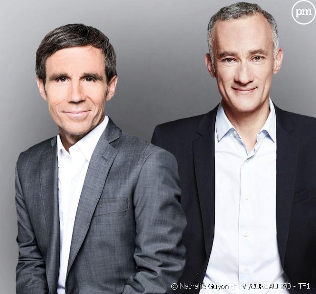 David Pujadas et Gilles Bouleau devaient présenter le débat d'entre-deux-tours