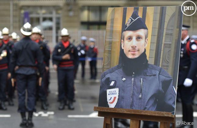 Cérémonie d'hommage à Xavier Jugelé