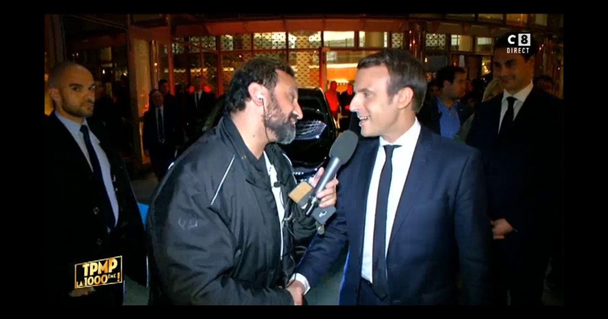 """Résultat de recherche d'images pour """"Hanouna Macron"""""""