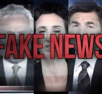 Le spot de Donald Trump qualifiant les médias de 'Fake...