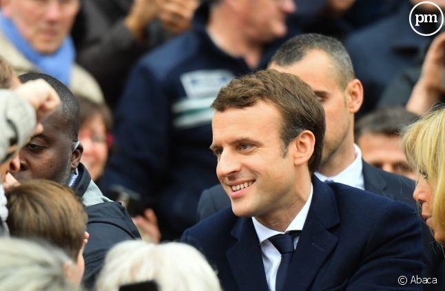 Emmanuel Macron, en prime lundi sur TF1.