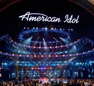 Le plateau d''American Idol'