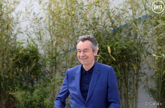 """Michel Denisot présente """"Le journal du festival"""" sur Canal+"""