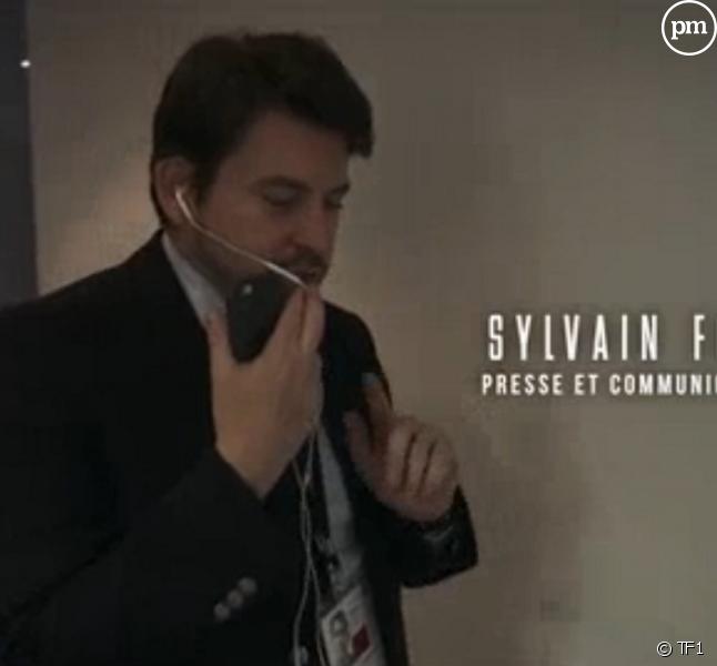 """Sylvain Fort dans le documentaire """"Les coulisses d'une victoire"""" sur TF1."""