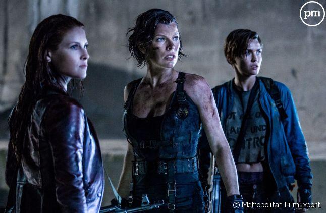 """Ali Larter, Milla Jovovich et Ruby Rose dans """"Resident Evil : Chapitre final"""""""