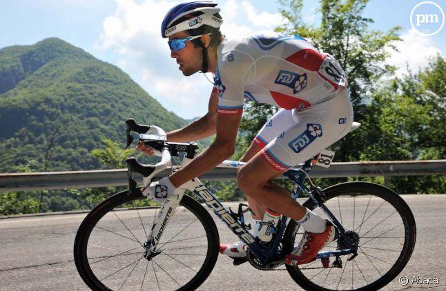 Thibaut Pinot lors de la 19e étape du Giro