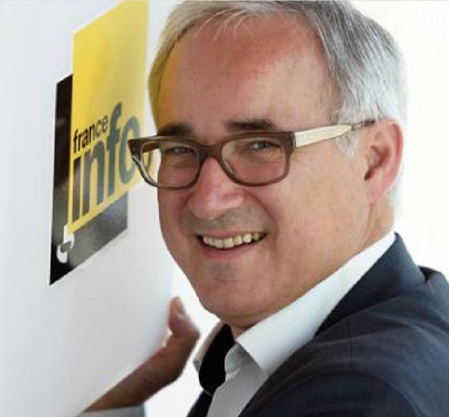 Vincent Giret, nouveau patron de franceinfo.