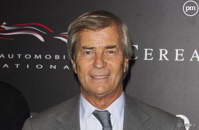 Vincent Bolloré, président du conseil de surveillance de Canal+