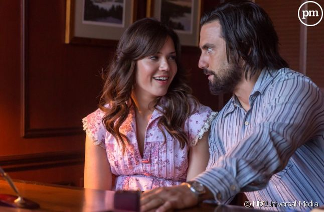 "Mandy Moore et Milo Ventimiglia dans ""This Is Us"""