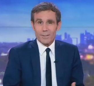 David Pujadas au 20 Heures de France 2