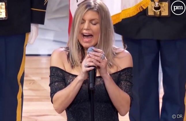 L'hymne américain revisité par Fergie n'est pas passé inaperçu dimanche soir