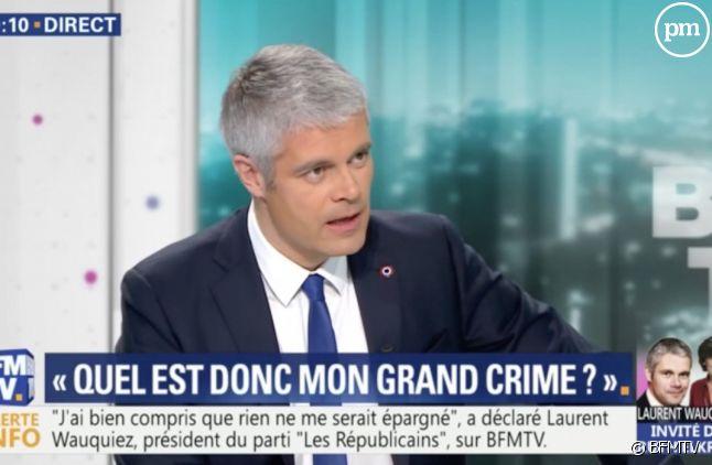 Laurent Wauquiez sur BFMTV.