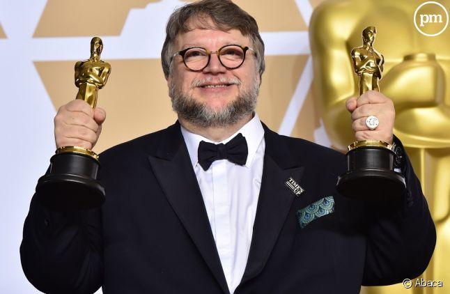 """Guillermo del Toro est reparti avec 4 Oscars pour """"La forme de l'eau"""", dont celui du meilleur film et du meilleur réalisateur"""
