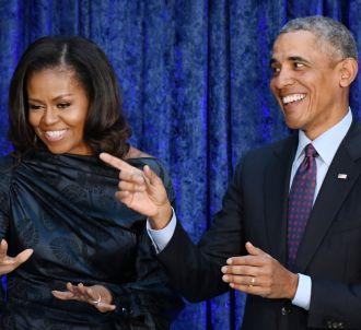 Michelle Obama et Barack Obama en 2018