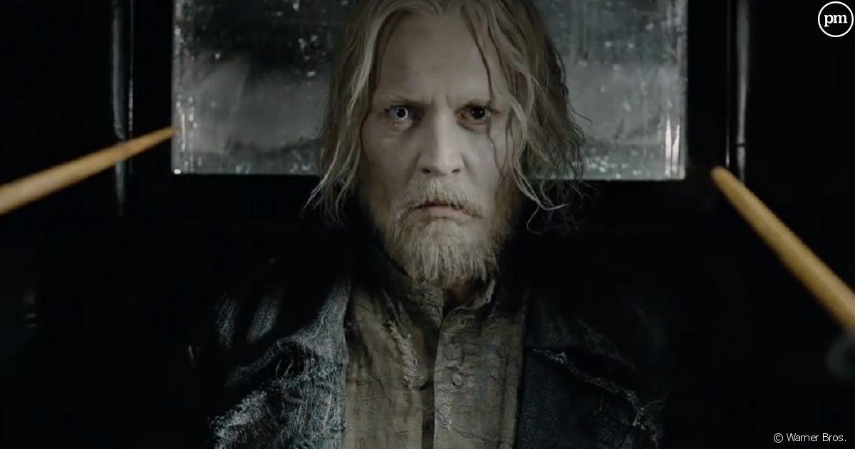 Les animaux fantastiques 2 jude law en dumbledore - Harry potter et les portes du temps bande annonce ...
