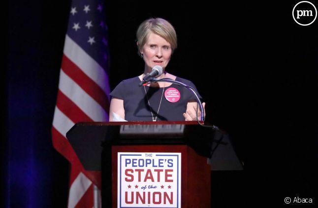 Cynthia Nixon veut être gouverneur de New York
