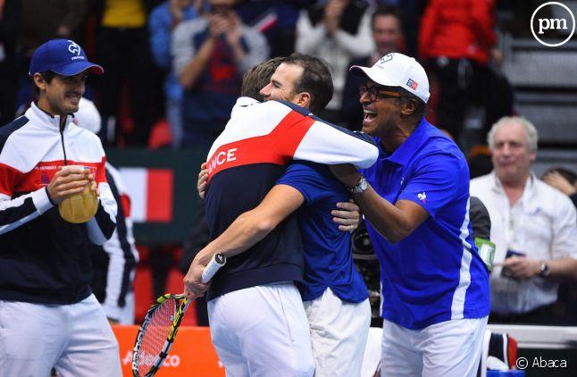 Equipe de France de tennis.