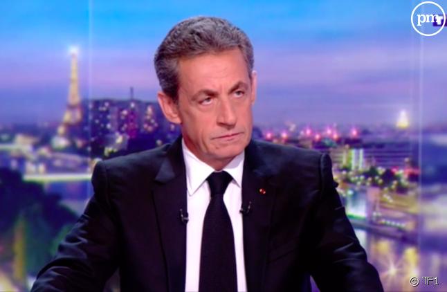 """Nicolas Sarkozy invité du """"20 Heures"""" de Gilles Bouleau le 22 mars 2018"""