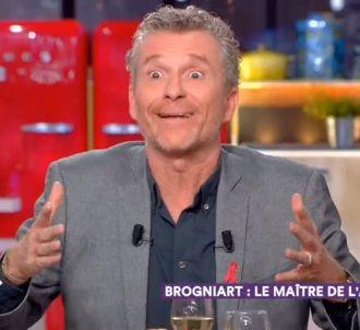 Denis Brogniart était l'invité de 'C à vous' hier soir.