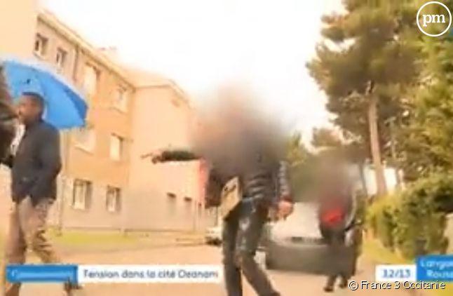 Des journalistes agressés par des jeunes d'un quartier de Carcassonne.