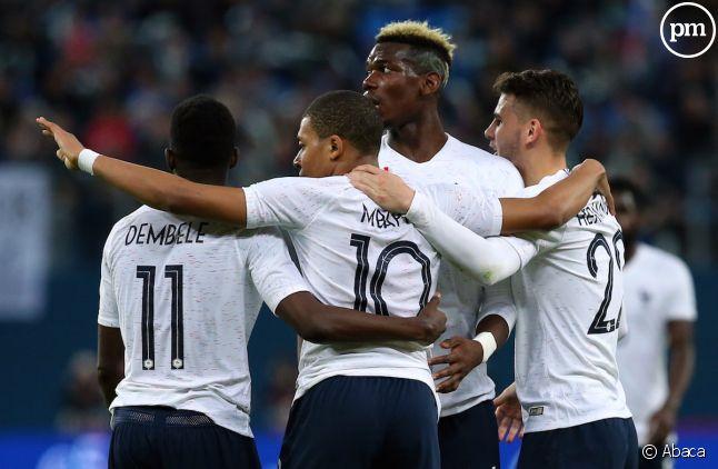 L'équipe de France bat la Russie trois buts à un.
