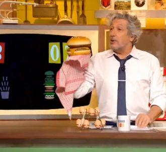Alain Chabat tacle Vincent Bolloré dans 'Burger Quiz'
