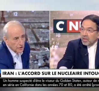Jean-Pierre Elkabbach a reçu l'ambassadeur d'Iran qui a...