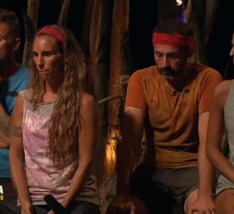 Pascal, Nathalie, Javier et Cassandre dans 'Koh-Lanta :...