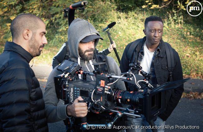"""Ahmed Sylla sur le tournage d'""""Access"""""""
