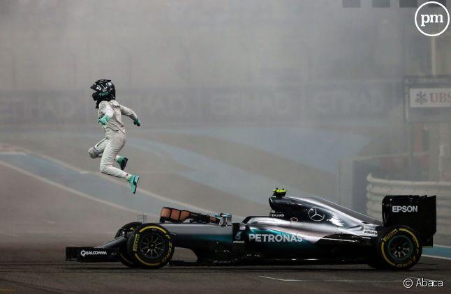 Le sautillant <span>Nico Rosberg en novembre 2016</span>
