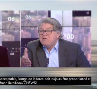 Gilbert Collard  dans 'L'heure des pros' sur CNews
