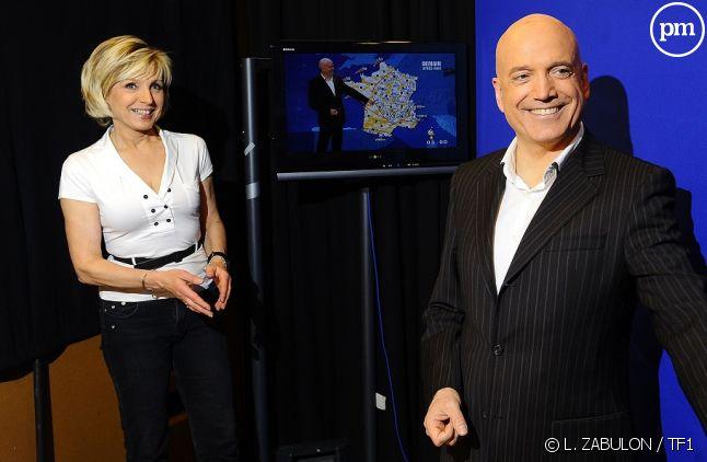 Évelyne Dhéliat et Louis Bodin