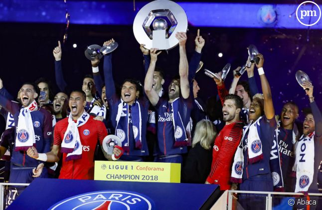 Le PSG, sacré champion de France