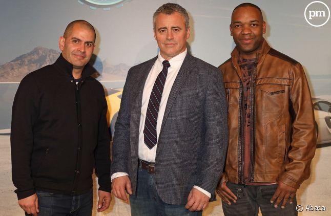 "Chris Harris, Matt Le Blanc et Rory Reid dans ""Top Gear"""