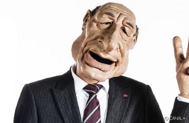 Marionnette de Jacques Chirac
