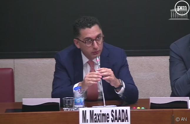 Maxime Saada à l'Assemblée nationale ce mercredi 5 décembre