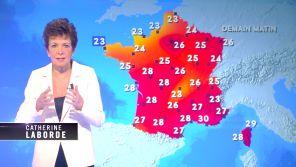 C8 : Catherine Laborde fait un retour surprise à la météo