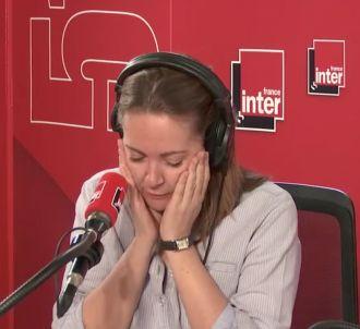 Charline Vanhoenacker se paye Bernard Guetta sur France...