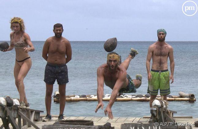 Chaque saison la production tente de trouver un équilibre entre épreuves sur terre et épreuves aquatiques