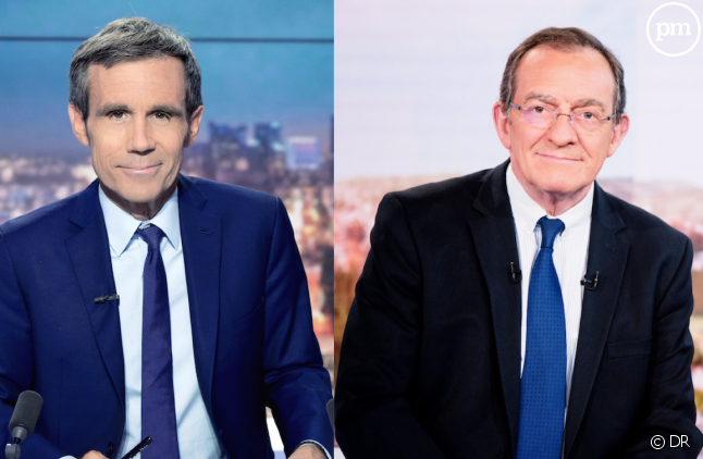 David Pujadas et Jean-Pierre Pernaut