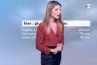 France 2 diffuse une version ratée de la météo de Chloé Nabédian