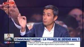 """Comparaison polémique entre voile et """"uniforme SS"""" : Olivier Galzi pris à partie par un de ses invités sur LCI"""