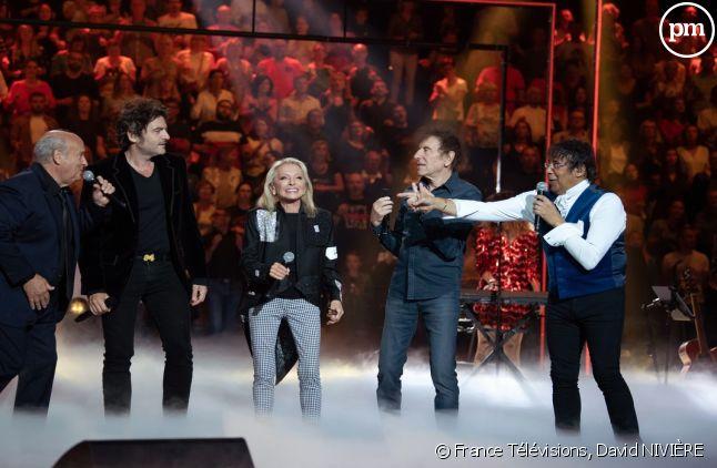 Michel Jonasz, M, Laurent Voulzy, Véronique Sanson et Alain Souchon