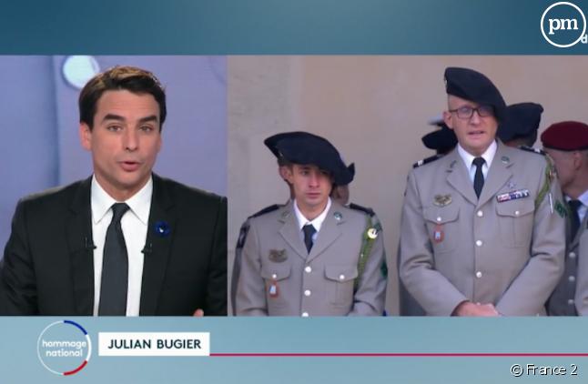 Julian Bugier aux commandes de l'édition spéciale de France 2