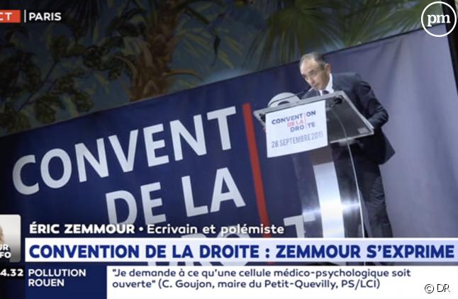 Eric Zemmour sur LCI samedi dernier
