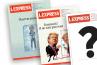 """""""L'Express"""" dévoile sa nouvelle formule inspirée de """"The Economist"""""""