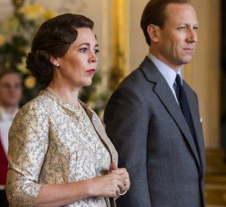 Olivia Colman et Tobias Menzies dans 'The Crown'