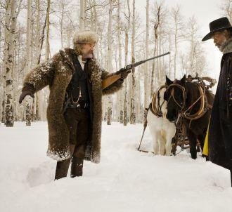 Kurt Russell et Samuel L. Jackson dans 'Les 8 salopards'