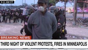 Emeutes de Minneapolis : Un journaliste de CNN et son équipe arrêtés par la police en plein direct