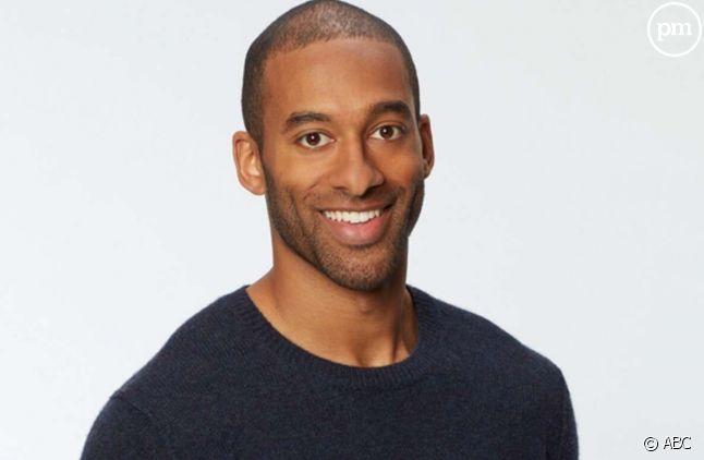 "Matt James, premier ""Bachelor"" noir"
